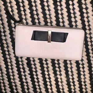 White Kate Spade Bow Tie Wallet